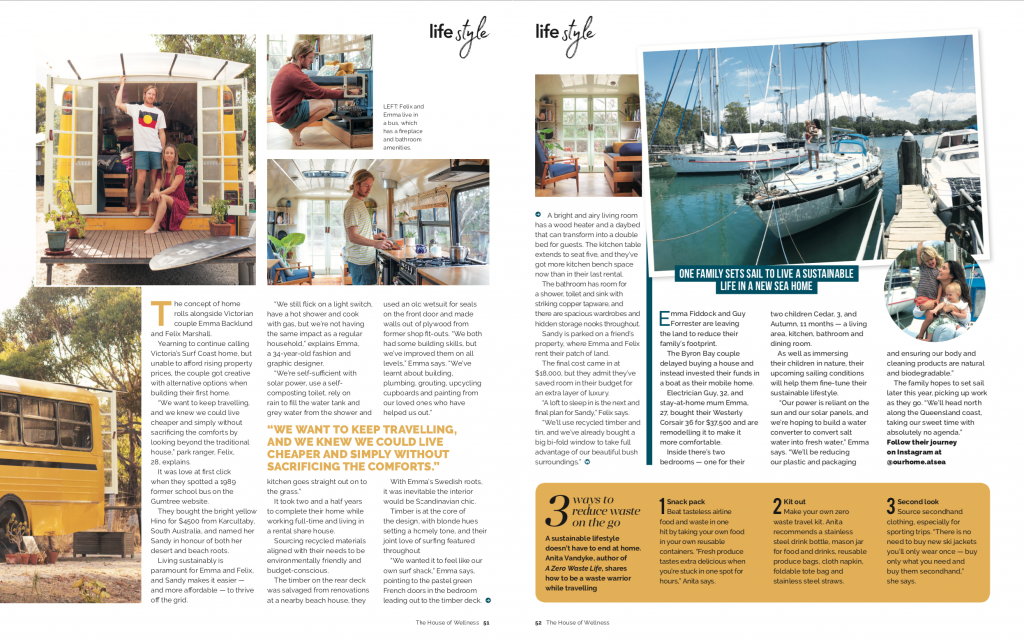 The feature, as it appeared in House of Wellness Magazine